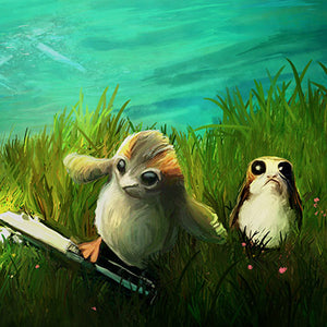 Porgs at Play by Joel Payne | Star Wars