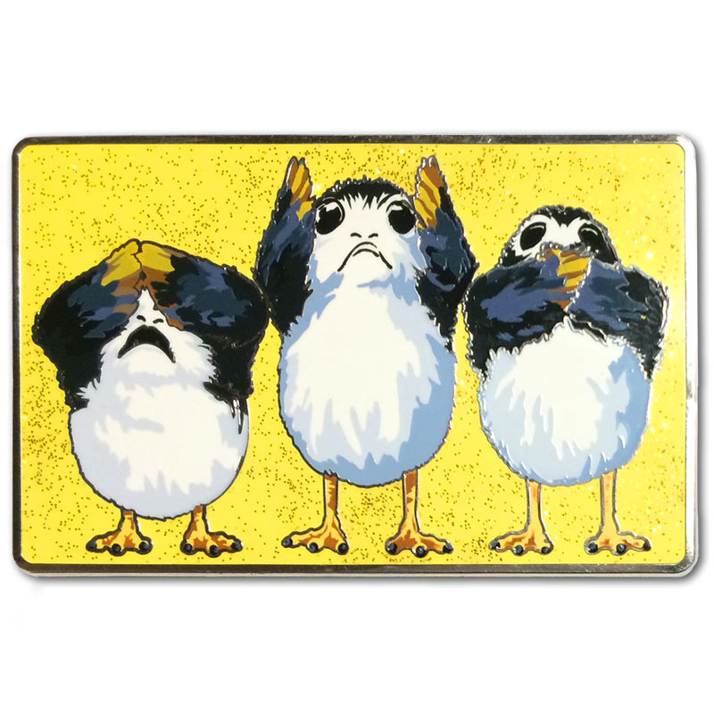 Porg No Evil Collectible Pin