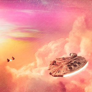 City in the Clouds by Rich Davies | Star Wars