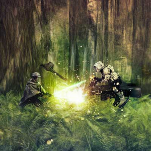Forest Moon Duel by Rich Davies | Star Wars