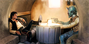 The Gunslinger by Brian Rood | Star Wars canvas