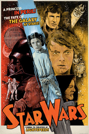 Galaxy at Stake by J.J. Lendl | Star Wars