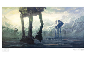 Dawn at Hoth by Christopher Clark | Star Wars paper
