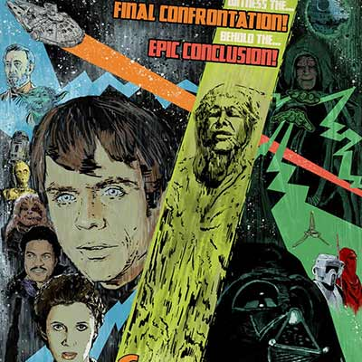 Final Confrontation by J.J. Lendl | Star Wars
