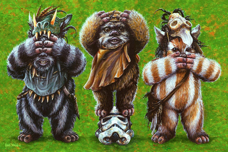 Ewok No Evil by Craig Skaggs | Star Wars