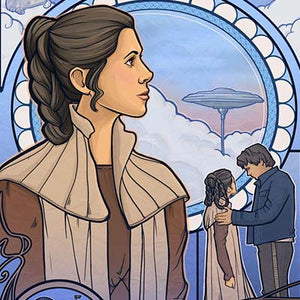 Cloud City Nouveau by Karen Hallion | Star Wars