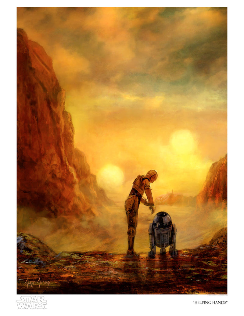 Helping Hands by Cliff Cramp | Star Wars