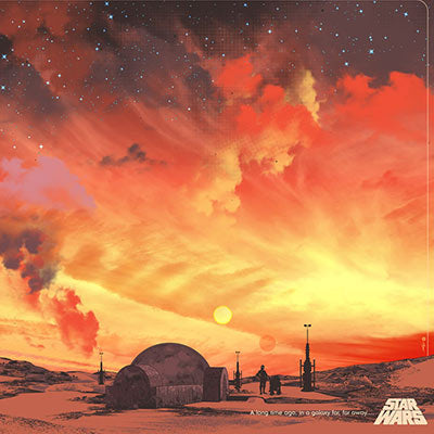 Binary Sunset by Guy Stauber | Star Wars thumb