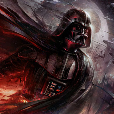 Conquering Shadow by Raymond Swanland | Star Wars