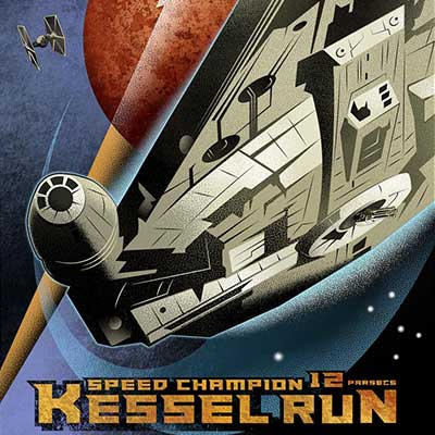 Kessel Run by Mike Kungl | Star Wars