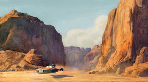 Commute Home by Cliff Cramp | Star Wars