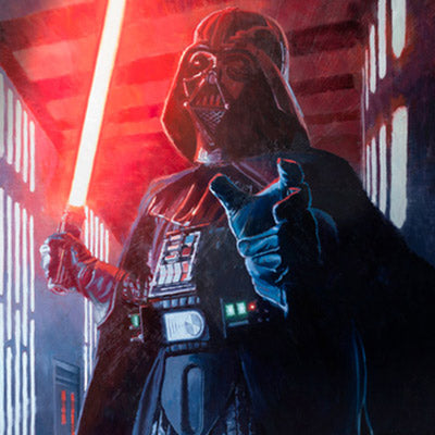 Confronting Vader by Christopher Clark | Star Wars thumb
