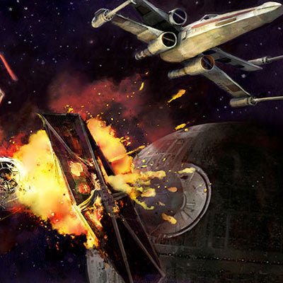 Dogfight by Cliff Cramp | Star Wars