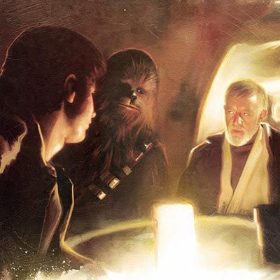 Transport Negotiations by Brian Rood | Star Wars