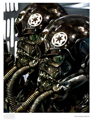 TIE Fighter Pilots by Cliff Cramp | Star Wars