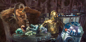 Let the Wookiee Win by Christopher Clark | Star Wars