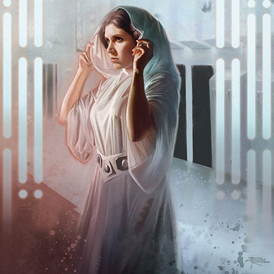 The Princess by Brian Rood | Star Wars
