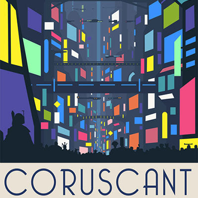 Coruscant Nightlife by Steve Thomas | Star Wars