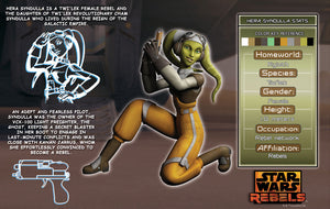 Hera Character Key | Star Wars