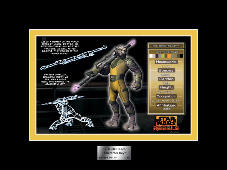 Zeb Character Key | Star Wars
