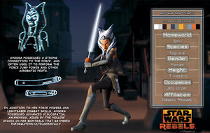 Ahsoka Character Key | Star Wars close up