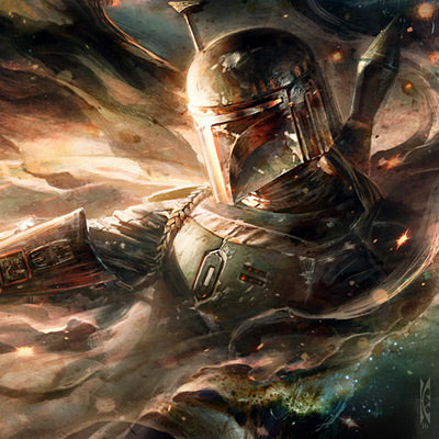 Ghost in the Wind by Raymond Swanland | Star Wars