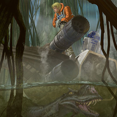 What Lies Beneath by Peter Ferk | Star Wars