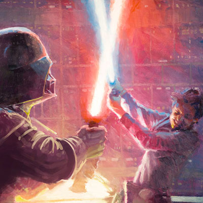 Not a Jedi Yet by Christopher Clark | Star Wars