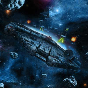 You're Not Actually Going INTO an Asteroid Field?! by Rob Surrette