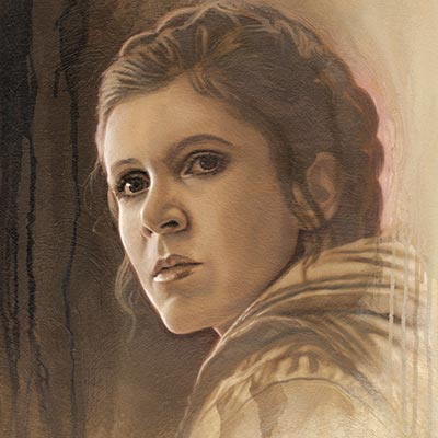 Timeless Series: Leia by Jerry Vanderstelt | Star Wars