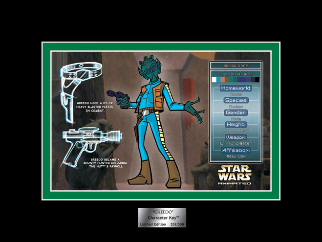 Greedo Character Key | Star Wars