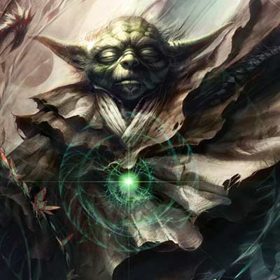 One With The Light by Raymond Swanland | Star Wars