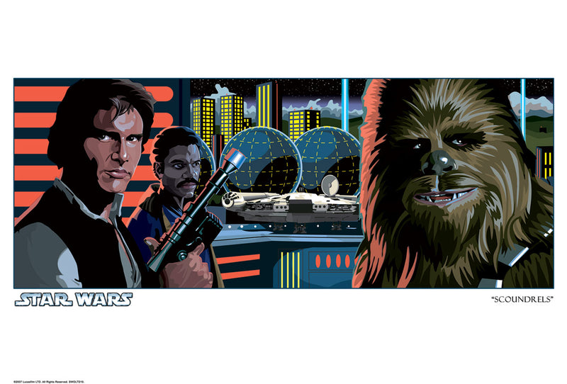 Scoundrels by Randy Martinez | Star Wars
