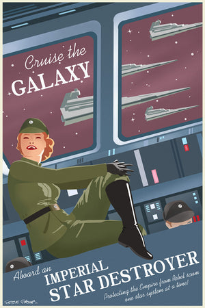 Cruise the Galaxy by Steve Thomas | Star Wars