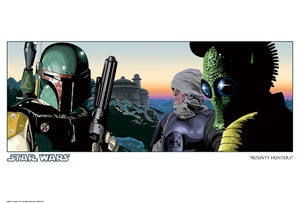 Bounty Hunters by Randy Martinez | Star Wars
