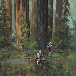 Forest Pursuits by Liné Tutwiler | Star Wars