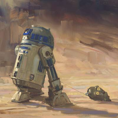 Saving Face by David Tutwiler | Star Wars