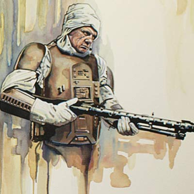 Bounty Hunter: Dengar by Brian Rood | Star Wars