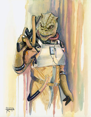Bounty Hunter: Bossk by Brian Rood | Star Wars