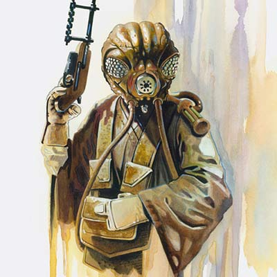 Bounty Hunter: Zuckuss by Brian Rood | Star Wars