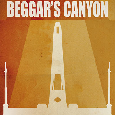 Beggar's Canyon by Jason Christman | Star Wars