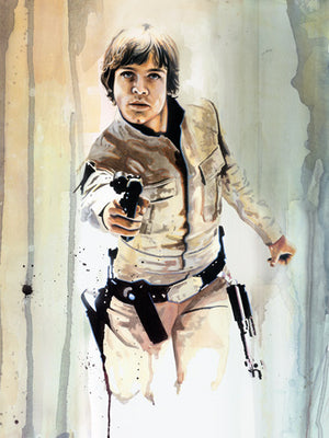 Blaster Luke by Brian Rood | Star Wars