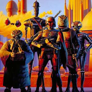 Scourge of the Galaxy by Ralph McQuarrie | Star Wars