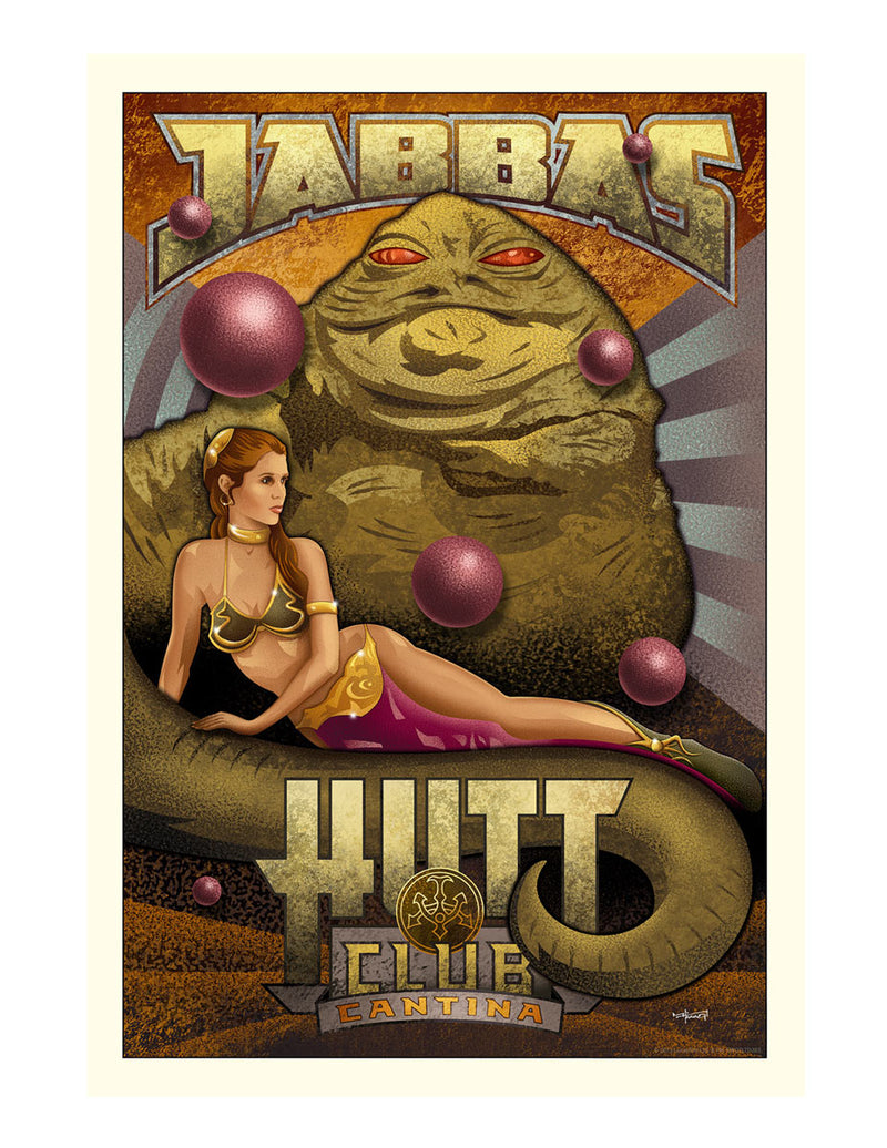 Jabba's Hutt Club by Mike Kungl | Star Wars