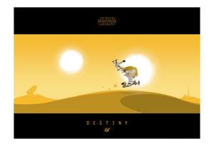 Little Luke's Destiny by Nick Scurfield | Star Wars