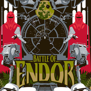 Battle of Endor by Mark Daniels | Star Wars