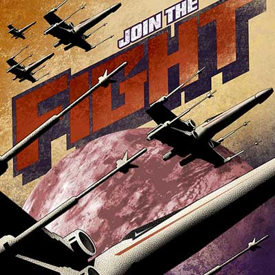 Join the Fight by Mike Kungl | Star Wars