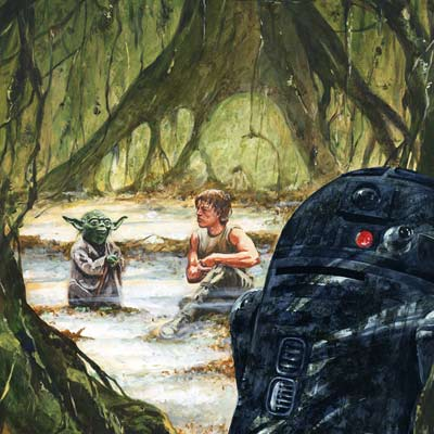 The Lesson by Kim Gromoll | Star Wars