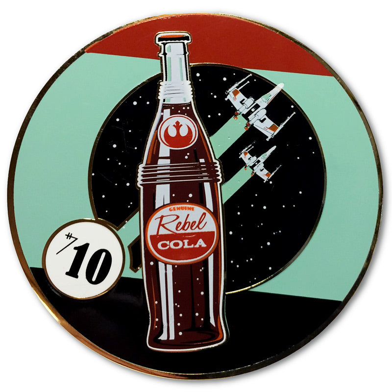 Rebel Cola #1 Collectible Pin | Star Wars
