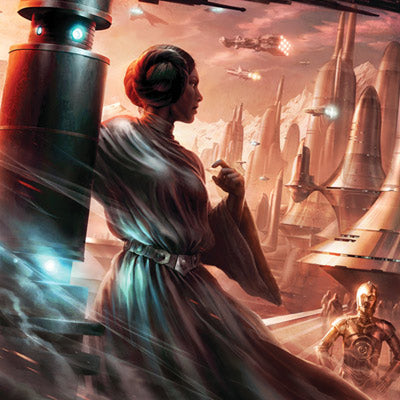 Last Look Back by Raymond Swanland | Star Wars